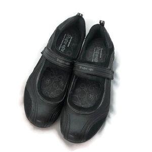 SKECHERS SHAPE UPS BLACK MARY JANES 11